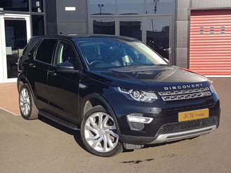 land rover discovery sport 2.0 td4 hse luxury auto 4wd (s/s) 5dr 7 seat