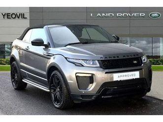 2017 land rover range rover evoque 2.0 td4 hse dynamic 2dr auto