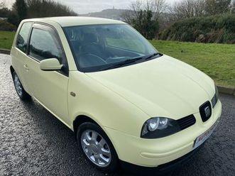 seat arosa 1.0 hatchback 3dr petrol manual (139 g/km, 50 bhp)the yellow dream machine!