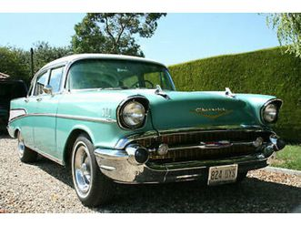 chevrolet bel air v8 auto sedan. now sold....more american cars required
