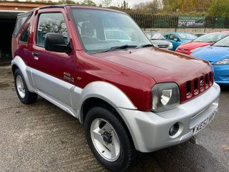 suzuki jimny 1.3 o2 3dr2 lady owners from new https://cloud.leparking.fr/2020/03/05/00/39/suzuki-jimny-cabriolet-suzuki-jimny-1-3-o2-3dr2-lady-owners-from-new-rouge_7481816965.jpg --