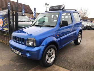 suzuki jimny 1.3 jlx 3dr* serviced *mot'd *guaranteed https://cloud.leparking.fr/2020/03/05/00/41/suzuki-jimny-cabriolet-suzuki-jimny-1-3-jlx-3dr-serviced-motd-guaranteed-bleu_7481826197.jpg --