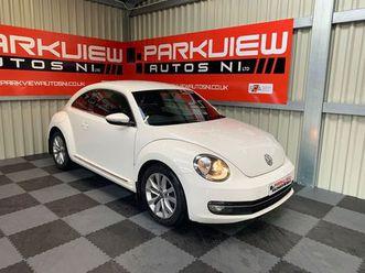 â£6,999â  â volkswagen beetle 2.0 tdi design 3dr