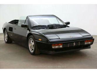 1989 ferrari mondial cabriolet https://cloud.leparking.fr/2020/04/16/00/18/ferrari-mondial-cabriolet-1989-ferrari-mondial-cabriolet-black_7560186642.jpg --