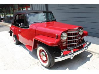 for sale: 1950 willys jeepster in roswell, georgia https://cloud.leparking.fr/2020/06/08/15/50/willys-jeepster-vj-for-sale-1950-willys-jeepster-in-roswell-georgia-red_7632405289.jpg --