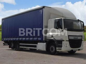 75.290 6x2 rear lift curtainside body - euro 6