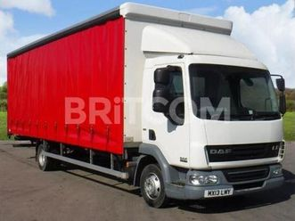 .160 4x2 curtainside body