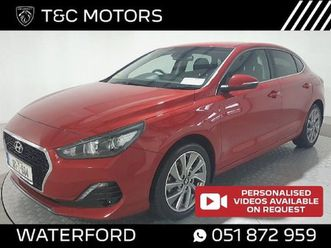 hyundai i30 1.0 petrol fastback sat nav. rear for sale in waterford for €16,995 on donedea