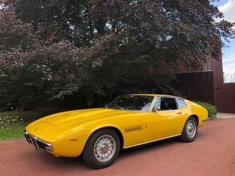 maserati ghibli 5000 ss de 1971 à vendre