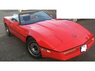 corvette c4 convertible pace car h-zl. tausch tüv 04/23