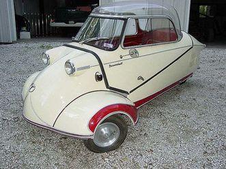 1955 messerschmitt kr200 bubble top
