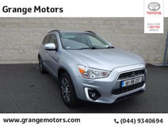 mitsubishi asx 1.6 did instyle 5dr for sale in westmeath for €14950 on donedeal