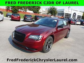 brand new red color 2020 chrysler 300 touring for sale in laurel, md 20707. vin is 2c3ccaa
