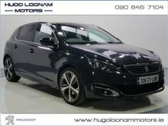 peugeot 308 308 gt line 2.0 bluehdi 150bhp 6 spee for sale in offaly for €14995 on donedea