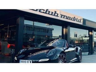 porsche 911 turbo cabriolet pdk descapotable o convertible de segunda mano en madrid   aut
