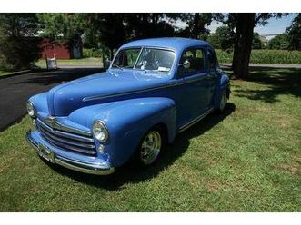 1948 ford coupe custom street rod