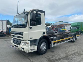 09 daf cf 65 220 18 ton chassis cab for sale in armagh for €1 on donedeal