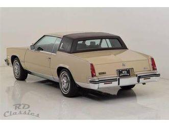 1985 cadillac eldorado coupé