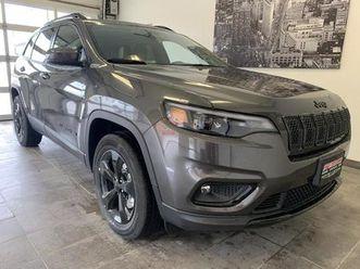 used 2021 jeep cherokee altitude