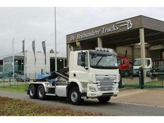 ② daf cf 85.410 6x4 - euro 6 - 2016-311.450 km - camions