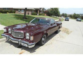 for sale: 1979 ford ranchero in cadillac, michigan
