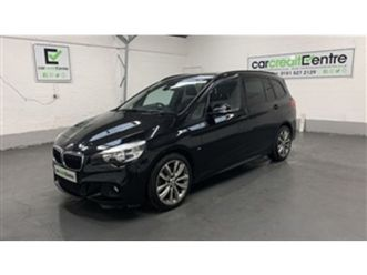 used 2017 bmw 2 series 2.0 220i m sport gran tourer 5d 189 bhp mpv 26,036 miles in black f