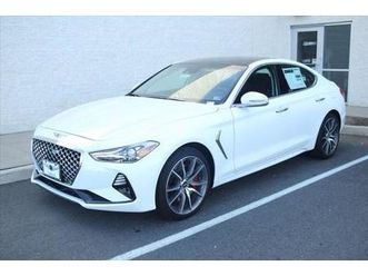 brand new white color 2021 genesis g70 for sale in chantilly, va 20151. vin is kmtg74le5mu