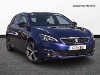 peugeot 308 peugeot 2.0 hdi blue (150) gt line for sale in meath for €15995 on donedeal