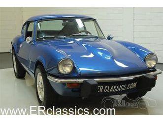 triumph gt6 mk3 1973 blue (1973)