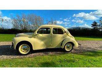 renault 4cv-1950-ex motor museum-now restored-beautiful example