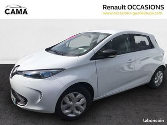 renault zoe intens charge normale r90 (hors batter