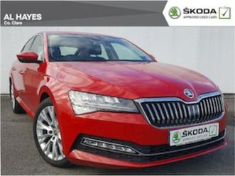 skoda superb style 7 speed automatic rare velvet for sale in clare for €33500 on donedeal