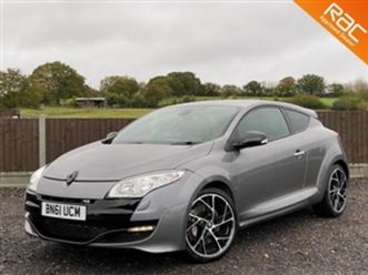 used 2011 renault megane 2.0t renaultsport coupe 43,000 miles in oyster grey metallic for
