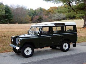 1982 land rover series 3 109 long wheelbase