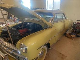 for sale: 1952 chevrolet bel air in cadillac, michigan