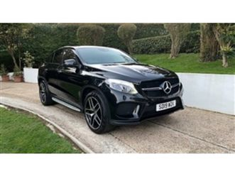 used 2019 mercedes-benz gle 350d coupe amg line premium plus nt ed 4x4 10,000 miles in bla