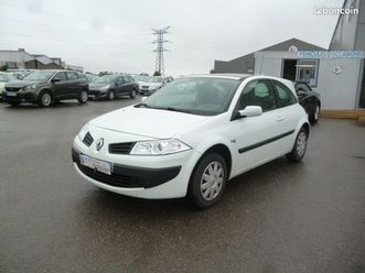 renault megane ii coupe 1.4 16v 100ch confort auth