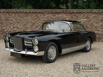 facel vega fv3 well documented, known history, completely restored, european car