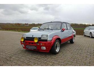 renault r 5 alpine turbo   rally scheinwerfer   uvm.