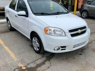 2011 chev aveo lt $5495 certified!!! offers on sale $4995 | cars & trucks | london | kijij