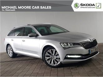 skoda superb combi style 1.6tdi 120hp dsg for sale in westmeath for €35,950 on donedeal