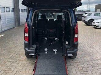 peugeot rifter rolstoelauto nieuw direct beschikbaar