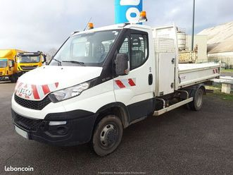 iveco daily 35-130 benne & coffre