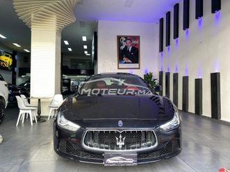 maserati ghibli 2016 diesel 322181 occasion à casablanca maroc