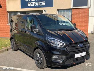 ford custom sport fourgon 290 l1h1 3 places 185 bva noir neuf