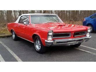 for sale: 1965 pontiac gto in stratford, new jersey