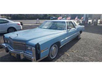 for sale: 1975 cadillac eldorado in cadillac, michigan