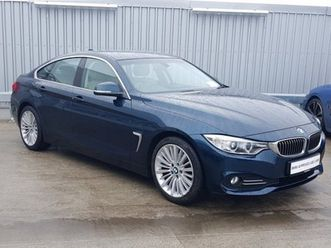 bmw 4 series 420d luxury gran coupe for sale in dublin for €22,500 on donedeal