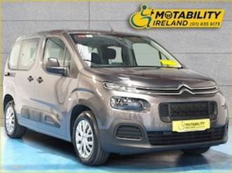 citroen berlingo multispace swb touch wheelchair for sale in meath for €25995 on donedeal