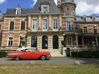 ② chevrolet belair sport coupé hardop 2 doors - oldtimers & ancêtres